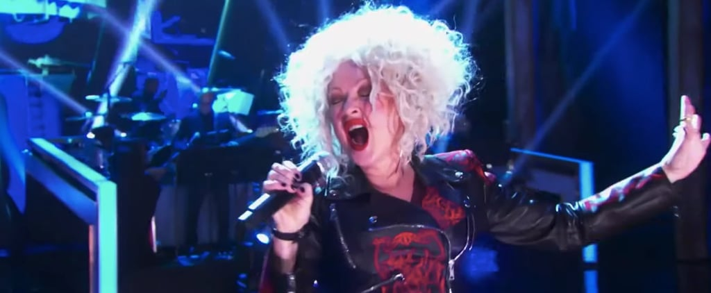 """Cyndi Lauper Sings Cher's """"If I Could Turn Back Time"""" Video"""