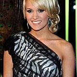 Carrie Underwood in a one-strap dress at the BMI Country Music Awards.