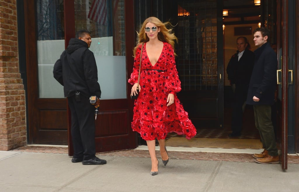 Blake Lively Proves Her Love For Michael Kors in the Most Romantic Dress
