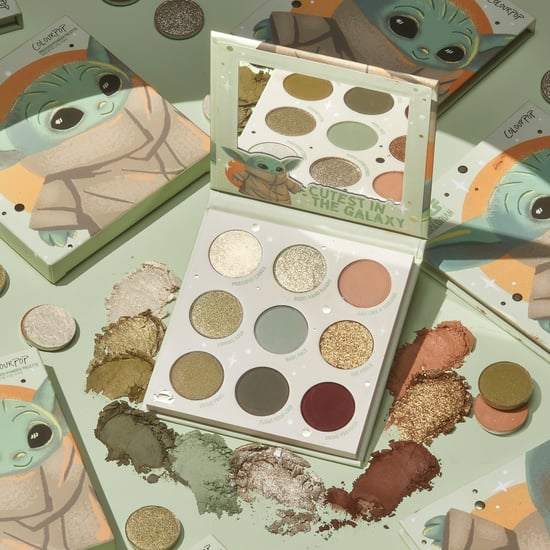 ColourPop Is Releasing a Baby Yoda Eyeshadow Palette
