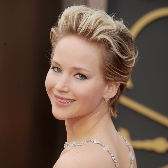 Jennifer Lawrence Growing Out Hair From Pixie To Bob Popsugar