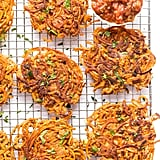 Spiralized Sweet Potato Chili Fritters
