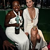 Maggie Gyllenhaal and Viola Davis cozied up at an afterparty.