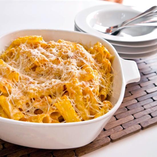 Pumpkin Parmesan Pasta Recipe