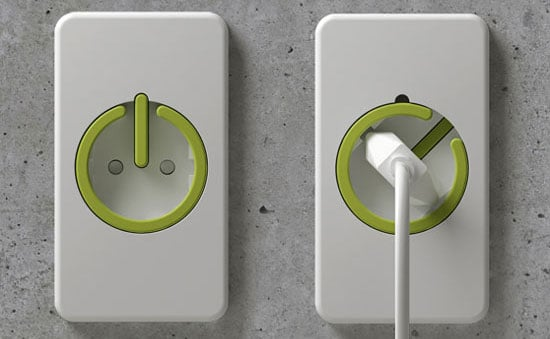 Eco-Friendly Electrical Outlet Prevents Wasting Money on Vampire Power