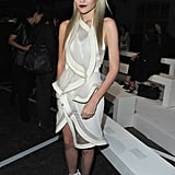 Sky Ferreira wore head-to-toe white Givenchy for the label's Spring 2013 show.