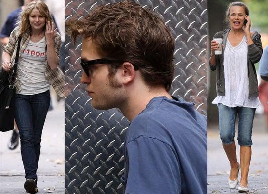 Robert Pattinson, Lena Olin and Emilie De Ravin on Remember Me Set in NYC
