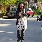 Pictures of Alanis Morissette With Son Ever Imre Treadway in Los Angeles