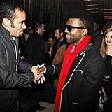 Kanye at Louis Vuitton Fashion Week