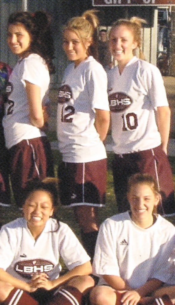Lauren Conrad played high school sports.