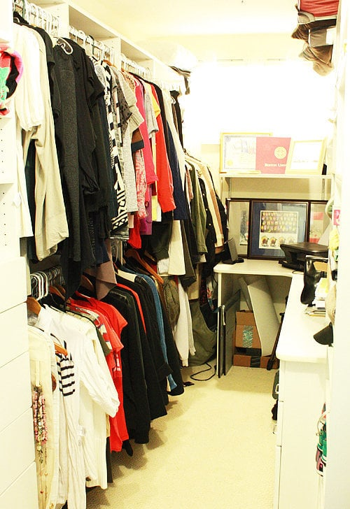 Now take a quick peek at what my closet looked like after just two hours.