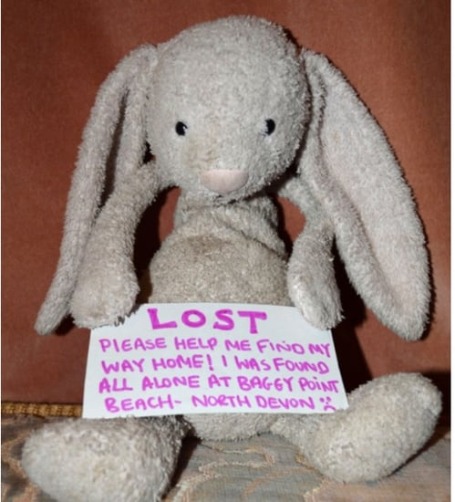Facebook Campaign Helps Toddler Find Toy