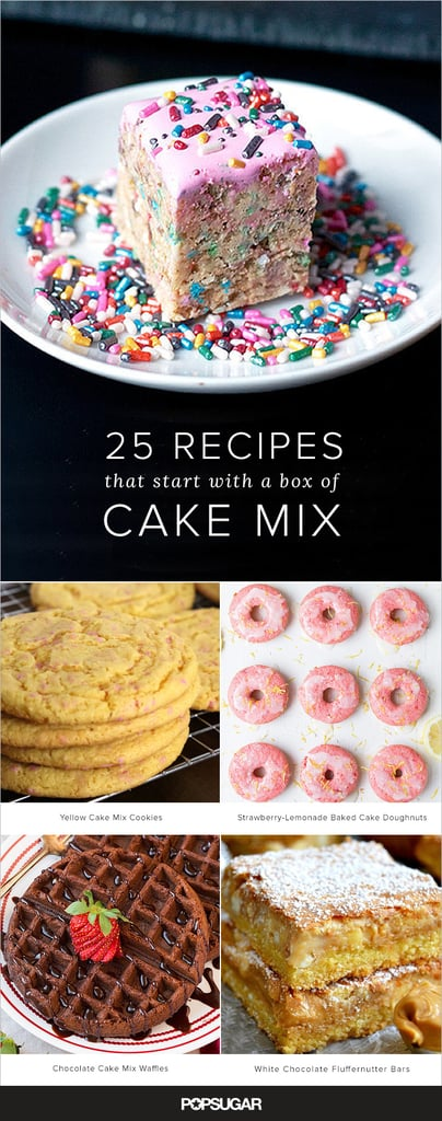 Recipes with a cake mix box