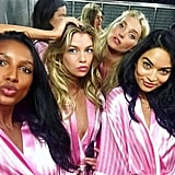 Jasmine Tookes, Stella Maxwell, Elsa Hosk, and Shanina Shaik