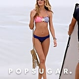 Candice Swanepoel Poses For a Flirty Fun Bikini Shoot