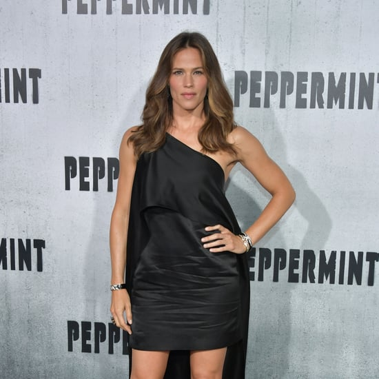 Jennifer Garner's Black Narciso Rodriguez Dress 2018