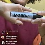 King Princess Using the Kosas 10-Second Eye Shadow