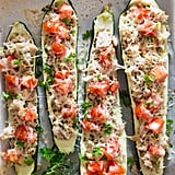 Healthy Courgette Tuna Melts