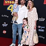 Jimmy Kimmel, Molly McNearney, and Their Kids at the Toy Story 4 Premiere