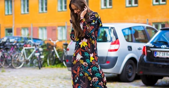 This $20 Dress Is Perfect With Flats and Ankle Boots