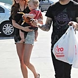 Photos of Pete, Ashlee and Bronx