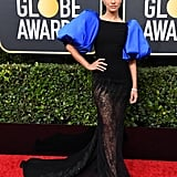 Janina Gavankar at the 2020 Golden Globes