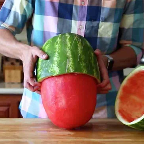 How to Skin a Watermelon Quickly