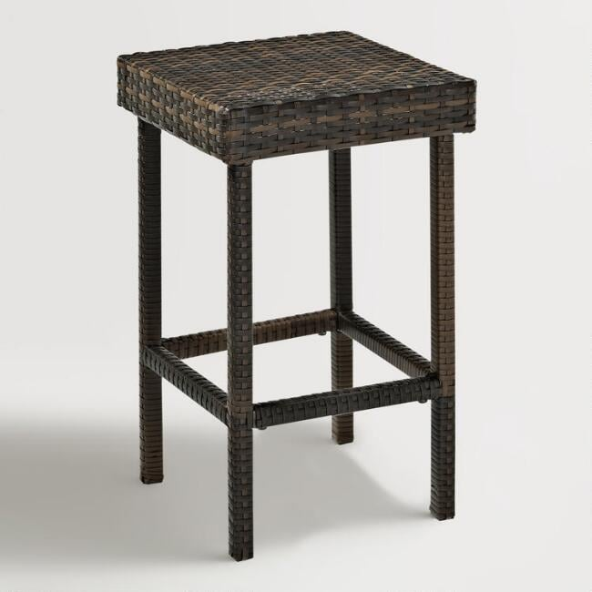 All Weather Wicker Pinamar Outdoor Counter Stool