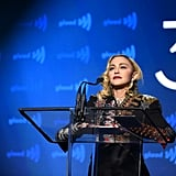 Madonna's Speech at the GLAAD Media Awards Video 2019