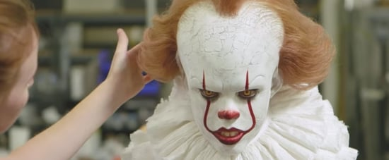 Pennywise It 2017 Behind the Scenes