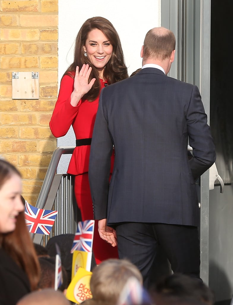Duchess of Cambridge and Prince William in London Feb 2017