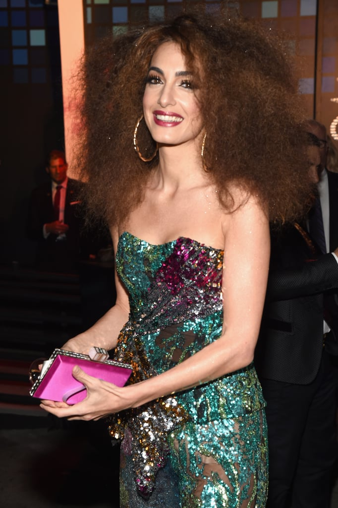Amal Clooney and Cindy Crawford's Halloween Costumes 2017