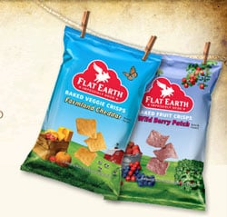 Free Sample Alert: Flat Earth Baked Veggie Crisps