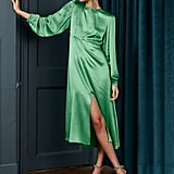 Kitri Fiona Absinthe Midi Dress