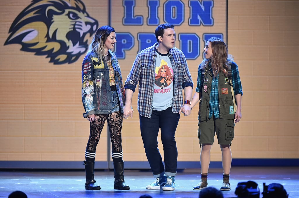 Barrett Wilbert Weed, Grey Henson, and Erika Henningsen From
