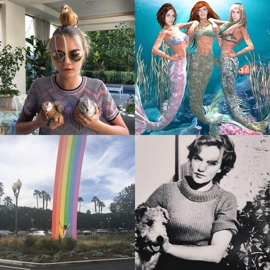 Best Cara Delevingne Instagrams