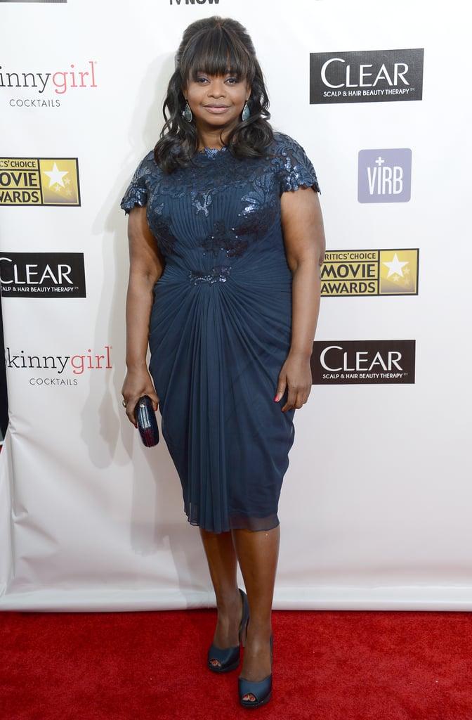 Octavia Spencer attended the 2013 Critics' Choice Awards.