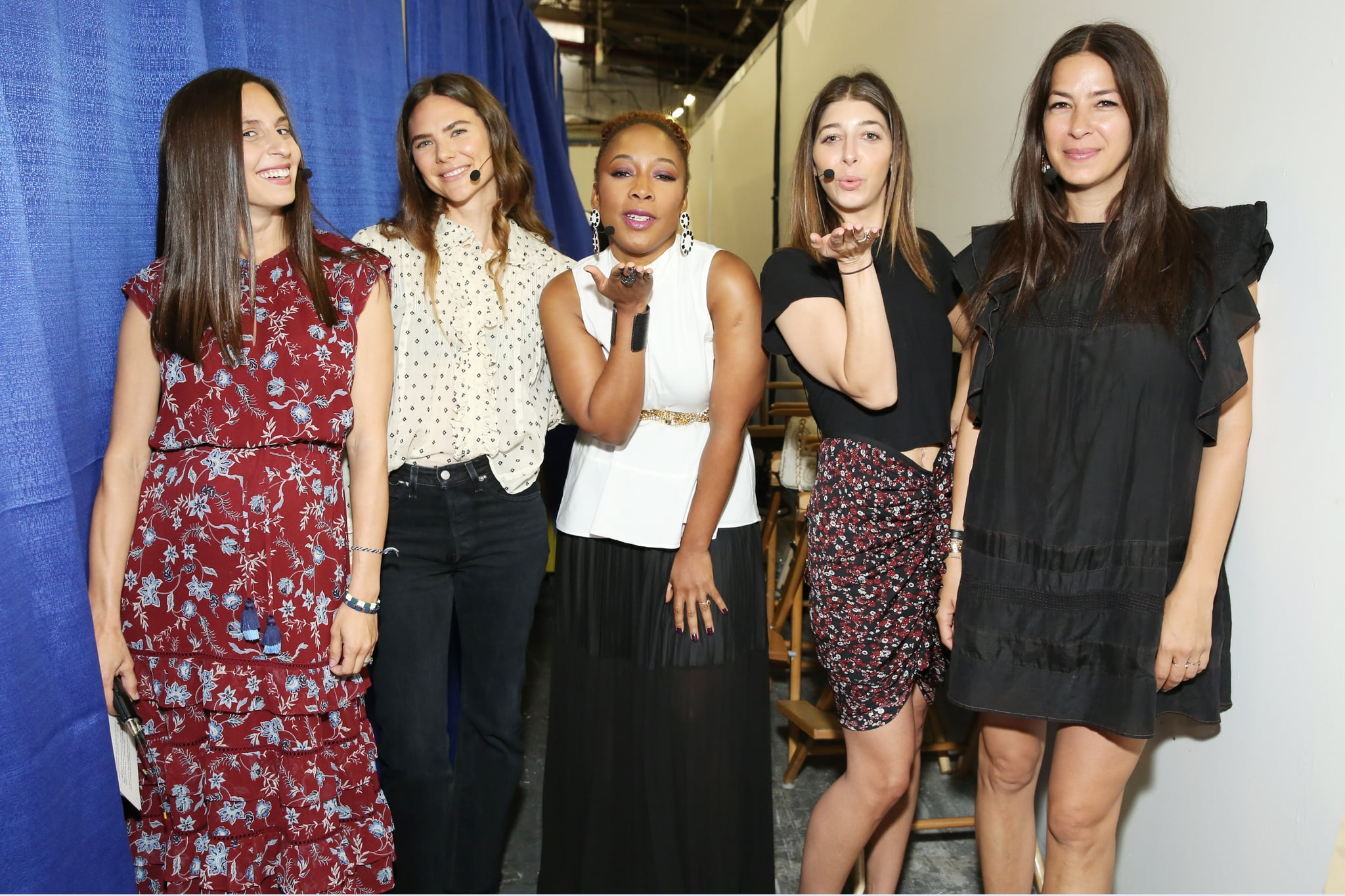 Pictured: Dana Avidan Cohn, Amanda Chantal Bacon, Ukonwa Ojo, Stephanie Mark, and Rebecca Minkoff