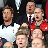 When Harry and William Had Matching Expressions