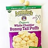 Annie's Organic White Cheddar Bunny Tail Puffs