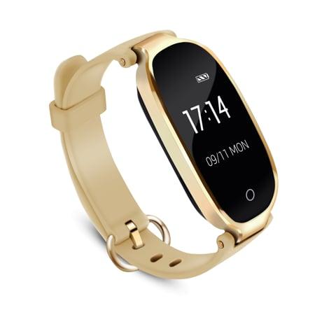 Agptek Waterproof Heart Rate Monitor Smart Watch