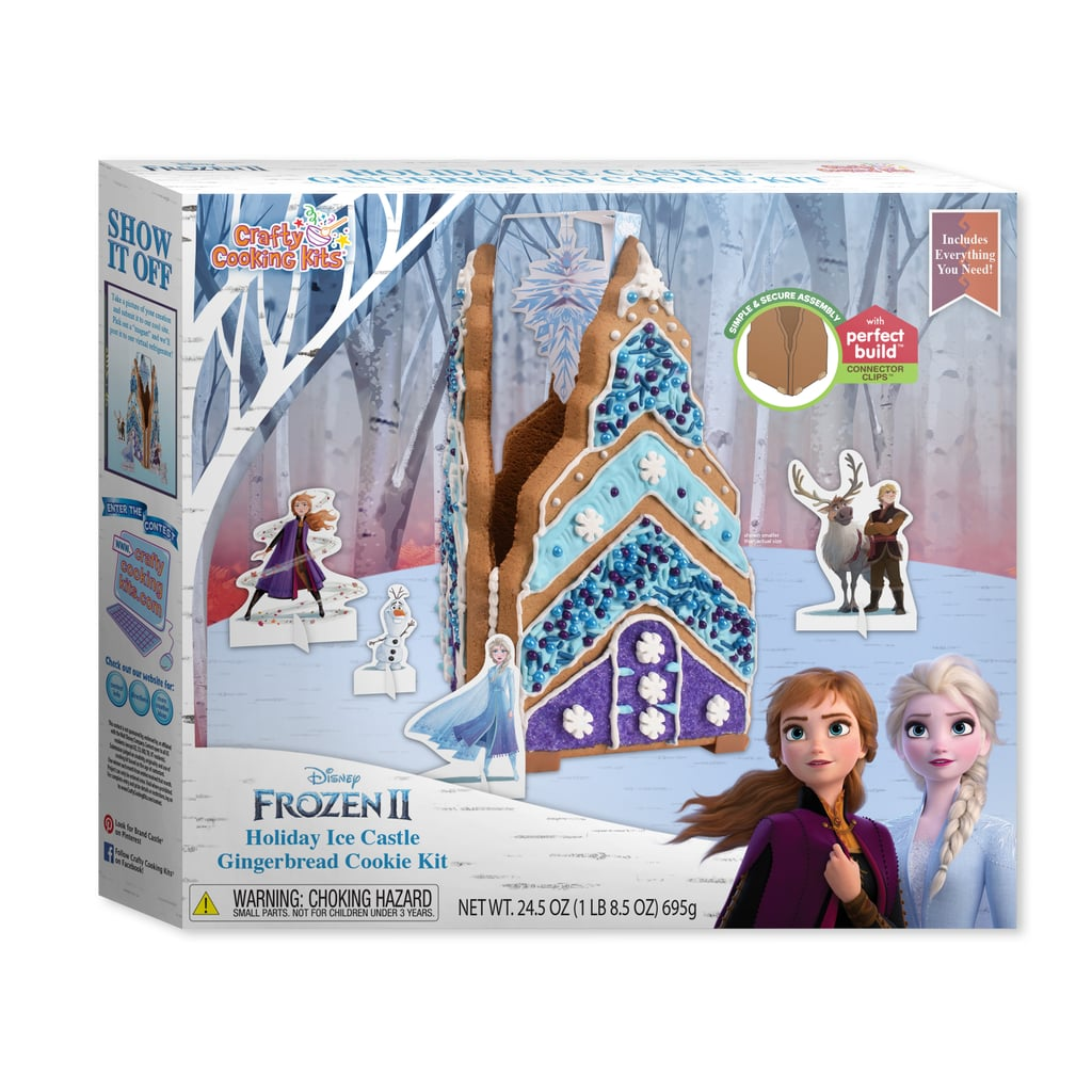 Disney Frozen 2 Castle Pre-Baked Gingerbread Cookie Kit
