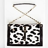 Attraction Pony Shoulder Bag in Leopard Photo courtesy of Tamara Mellon