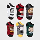 Harry Potter 6pk Low Cut Casual Socks
