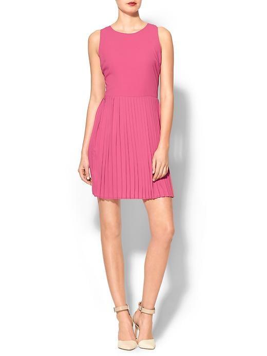Pleated Pim + Larkin Dress