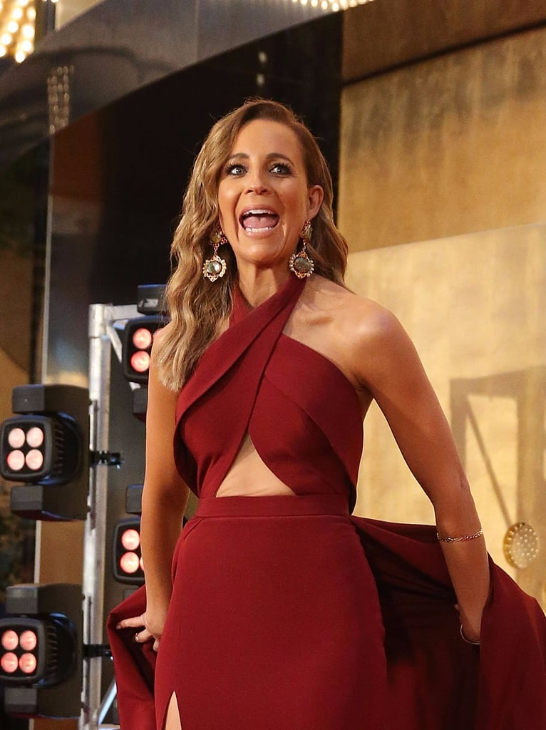 Carrie Bickmore's Logies Dress 2017