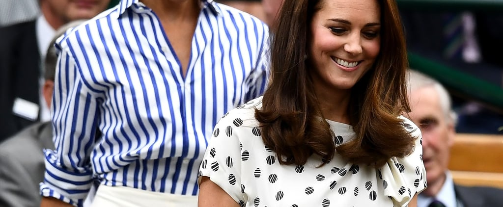 Kate Middleton Outfit at Wimbledon Women's Final 2018