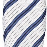 Protagonist Striped Silk-Twill Midi Dress ($520)