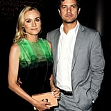 Diane Kruger and Joshua Jackson at The Bridge Premiere