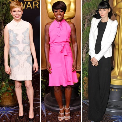Celebrities at Academy Awards Luncheon 2012